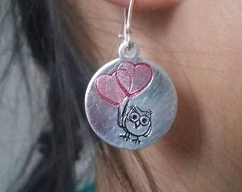 Owl-e-up! sterling silver earrings