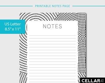 printable notebook