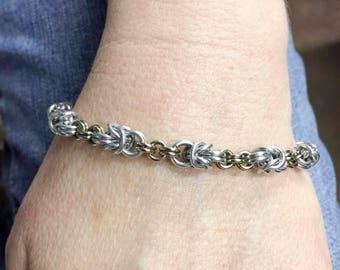 Beautiful Chain mail Bracelet