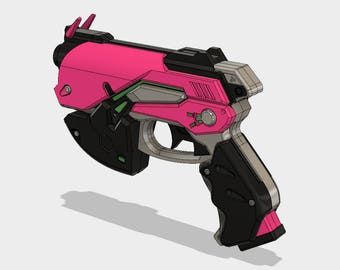 DVA GUN (overwatch) [3d files]