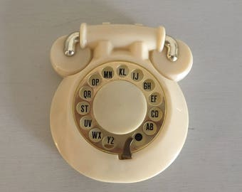 Vintage Telephone Name Address Phone Number Rotary Dial