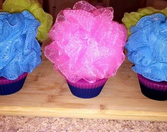 Wildberry cupcake