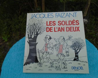 Jacques Faizant - the sale of the year two - book Humoristique