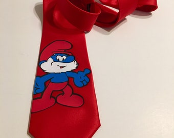 Papa Smurf Necktie