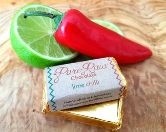 Pure Raw Chocolate - Lime Chilli