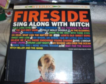 """Mitch Miller - Fireside Sing Along With Mitch"""""""