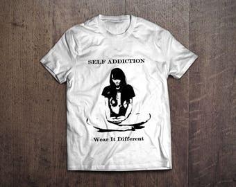 Self Addiction Designer T-shirt