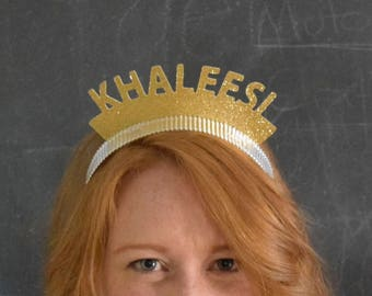 Game of Thrones Khaleesi Party Crowns