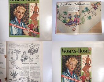 1950s Woman and Home magazine