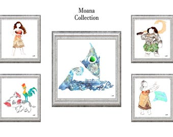 Disney's Moana Collection-INSTANT DIGITAL DOWNLOAD