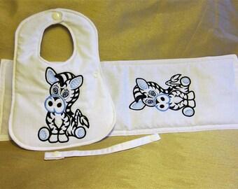 Bib Burp Cloth Gift Set