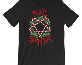 Hail Santa Short-Sleeve Unisex T-Shirt