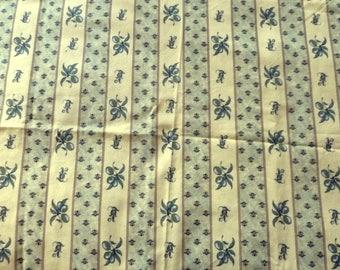Provencal olive fabric