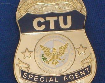 CTU Badge # 24 Movie Prop