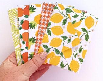 Handmade envelopes / weheartconfetti
