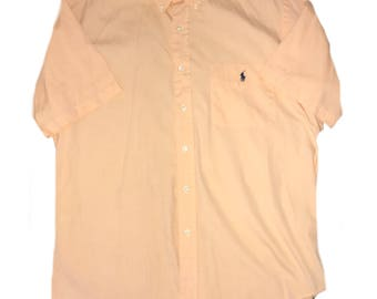 Vintage Ralph Lauren short sleeve button down shirt