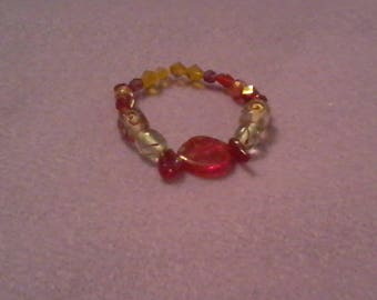 Ladybug Red Bracelet