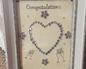 Congratulations picture frame