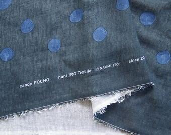 Nani Iro 2017 Candy POCHO Dm - cotton linen Kokka japanese fabric