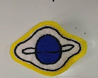 Saturn brooch