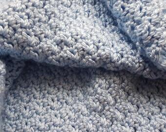 Supersoft Baby Blue Blanket