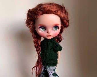 Blythe wool sweater (green)