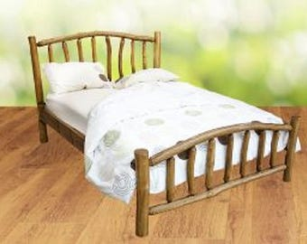 King size Dreamweaver Plus Rustic Wooden Bed Frame
