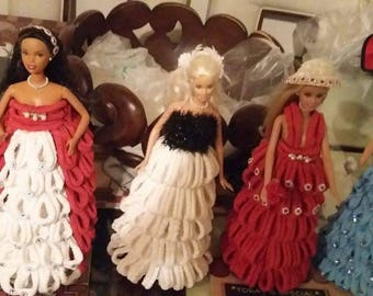 hand designed Barbie dolls