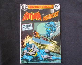 The Brave and The Bold #110 (Teams Up With Wild Cat) D.C. Comics 1973/1974