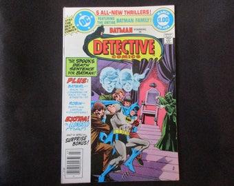 Detective Comics #488 D.C. Comics 1980