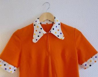 Orange dress 60's