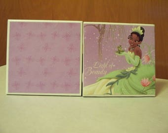 Disney Tiana ceramic coasters