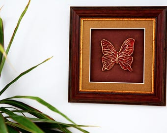 Butterfly wall art, moth wall art, 3d butterfly art, butterfly picture, butterfly painting, butterfly nursery, butterfly garden