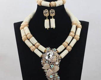 New Elegant Coral Wedding Beads