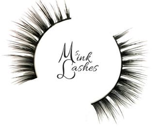 Lena Mink Lashes - Mink False Eyelashes