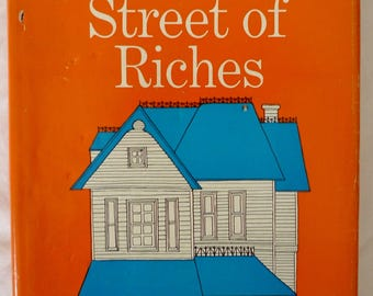 GABRIELLE ROY ~ Street of Riches ~ HARDCOVER First edition W Dj Book 1957