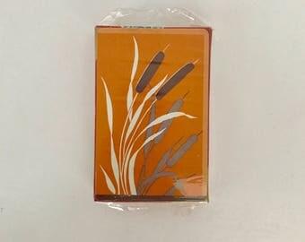 Vintage Avon playing cards - wheatstock design
