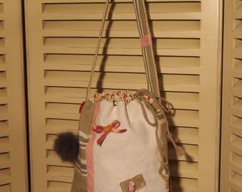 Hobo canvas shopping bag