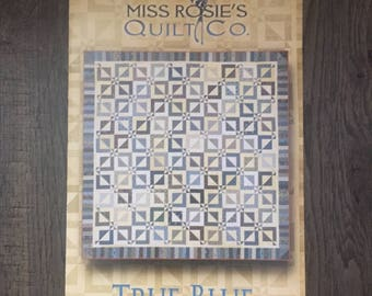 Quilt Pattern - True Blue by Miss Rosie's Quilt Co.