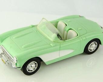 Golden Classics 1957 Chevrolet Corvette Convertible Model Car by Jimmys Toys