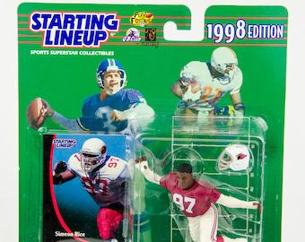 Starting Lineup 1998 NFL Simeon Rice Action Figure Arizona Cardinals