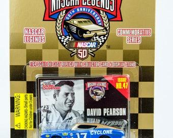 Racing Champions Nascar Legends David Pearson Mercury Cyclone 1/64 Diecast