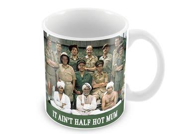 It Ain't Half Hot Mum Ceramic Coffee Mug    Free Personalisation