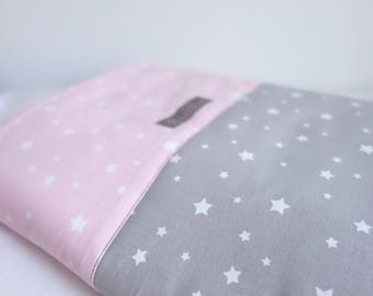 Plaid pink starry night Collection