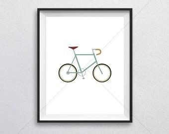 Minivelo, Bicycle, Bike, Mini, Print, Printable Poster, 8x10