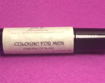 "Essential Oil Roller ""Cologne For Men"" Aromatherapy"