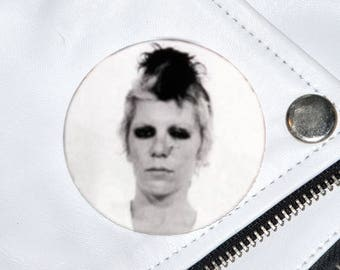 Wendy O. Williams Mugshot Badge