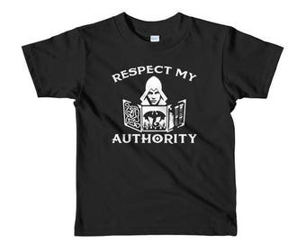 Kid's Respect My Authority Shirt