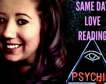 SAME DAY LOVE Reading! An In-Depth/Detailed look into your love life!