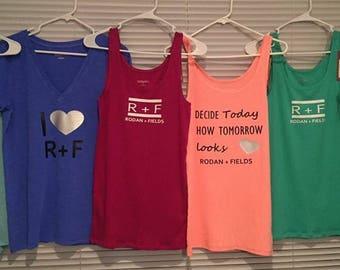 Set of 6 Rodan and Fields shirts